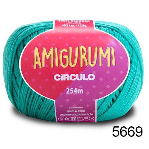 LINHA AMIGURUMI 125 G COR 5669 TIFFANY