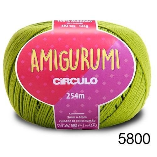 LINHA AMIGURUMI 125 G COR 5800