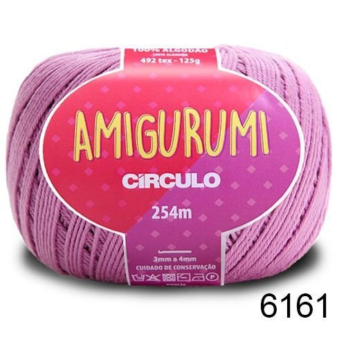 LINHA AMIGURUMI 125 G COR 6161 VIOLETA