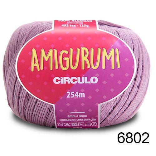 LINHA AMIGURUMI 125 G COR 6802