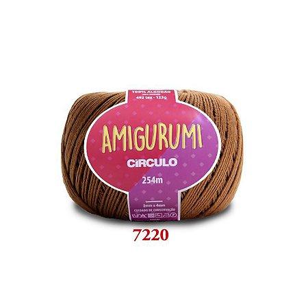 LINHA AMIGURUMI 125 G COR 7220