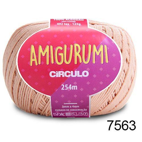 LINHA AMIGURUMI 125 G COR 7563