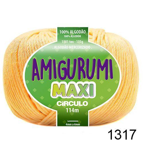 FIO AMIGURUMI MAXI 135 GR 114 MTS COR 1317