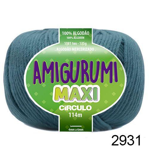 FIO AMIGURUMI MAXI 135 GR 114 MTS COR 2931