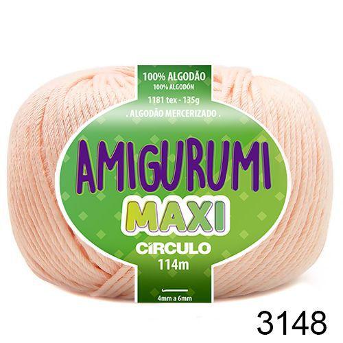 FIO AMIGURUMI MAXI 135 GR 114 MTS COR 3148
