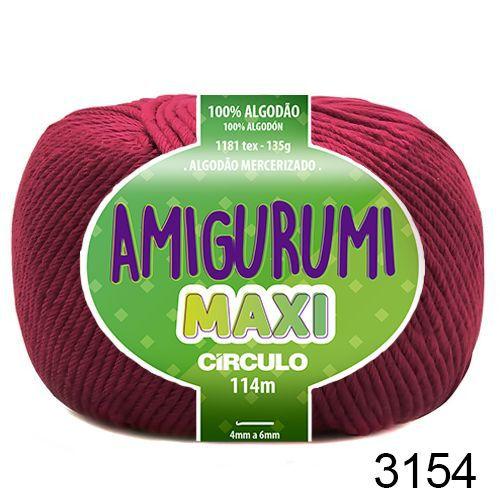 FIO AMIGURUMI MAXI 135 GR 114 MTS COR 3154