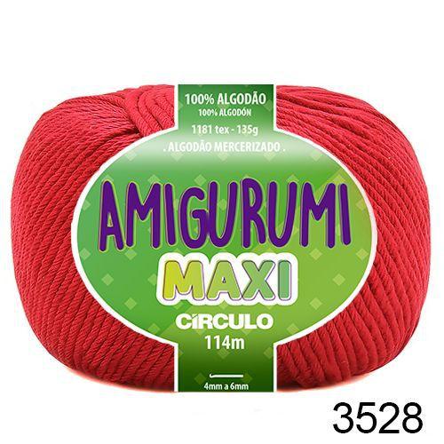 FIO AMIGURUMI MAXI 135 GR 114 MTS COR 3528