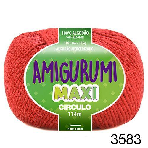FIO AMIGURUMI MAXI 135 GR 114 MTS COR 3583