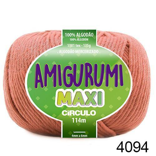 FIO AMIGURUMI MAXI 135 GR 114 MTS COR 4094