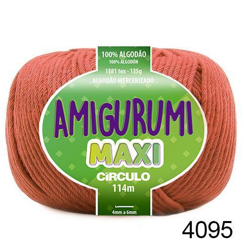 FIO AMIGURUMI MAXI 135 GR 114 MTS COR 4095