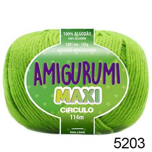 FIO AMIGURUMI MAXI 135 GR 114 MTS COR 5203