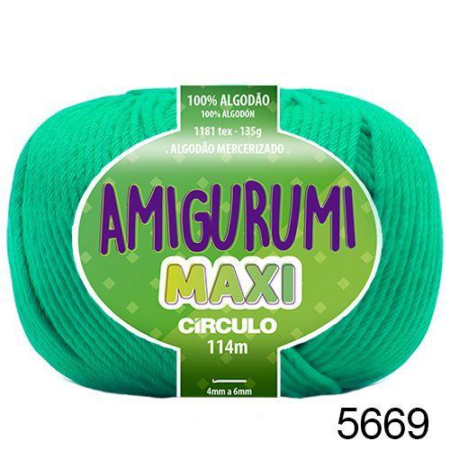 FIO AMIGURUMI MAXI 135 GR 114 MTS COR 5669