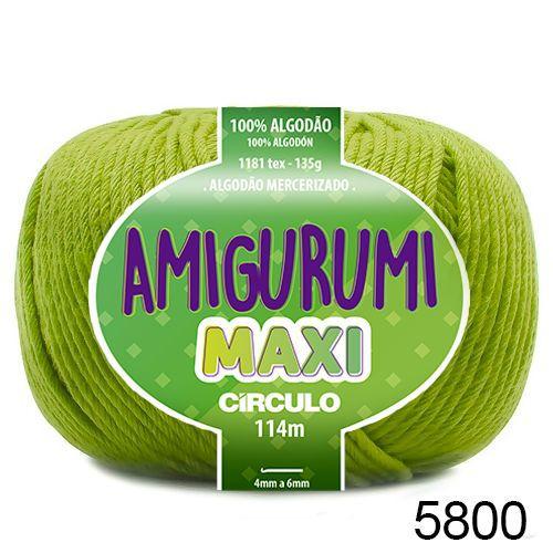 FIO AMIGURUMI MAXI 135 GR 114 MTS COR 5800