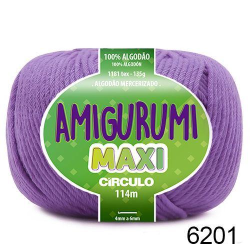 FIO AMIGURUMI MAXI 135 GR 114 MTS COR 6201