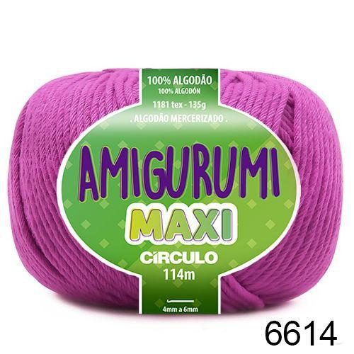 FIO AMIGURUMI MAXI 135 GR 114 MTS COR 6614