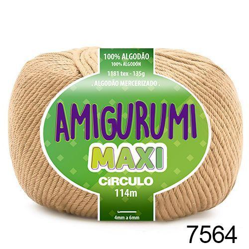 FIO AMIGURUMI MAXI 135 GR 114 MTS COR 7564