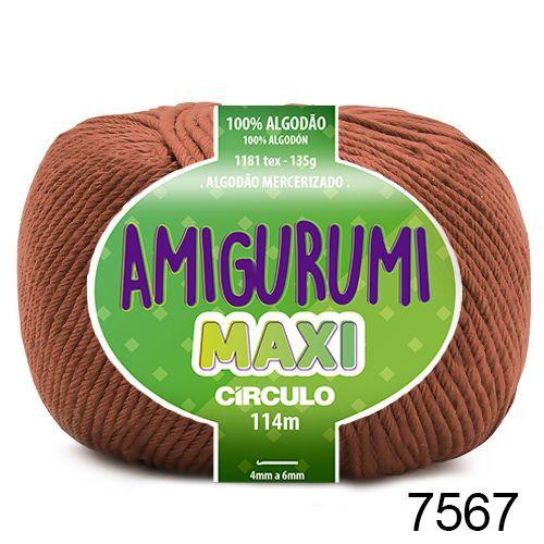 FIO AMIGURUMI MAXI 135 GR 114 MTS COR 7567