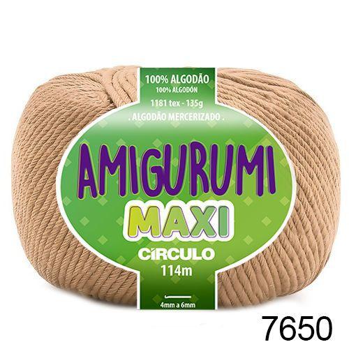 FIO AMIGURUMI MAXI 135 GR 114 MTS COR 7650