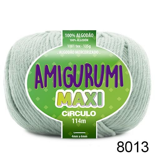 FIO AMIGURUMI MAXI 135 GR 114 MTS COR 8013