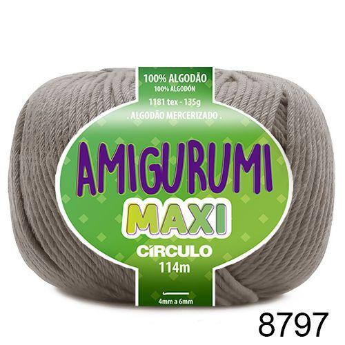 FIO AMIGURUMI MAXI 135 GR 114 MTS COR 8797