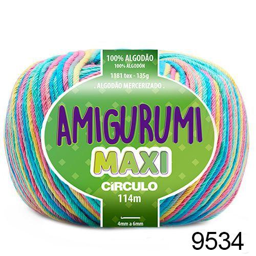 FIO AMIGURUMI MAXI 135 GR 114 MTS COR 9534