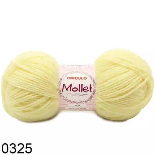 FIO MOLLET CIRCULO COR 0325 100 G