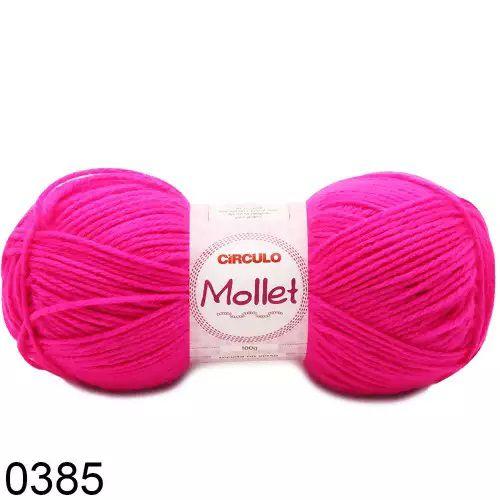 FIO MOLLET CIRCULO COR 0385 100 G