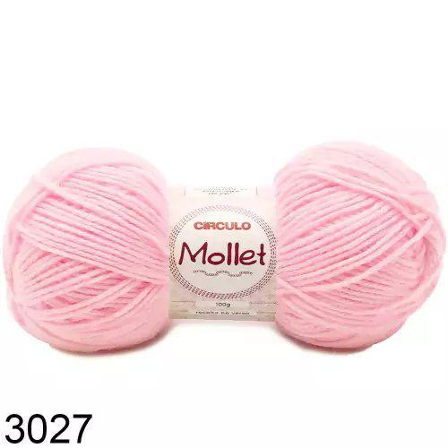 FIO MOLLET CIRCULO COR 3027 100 G