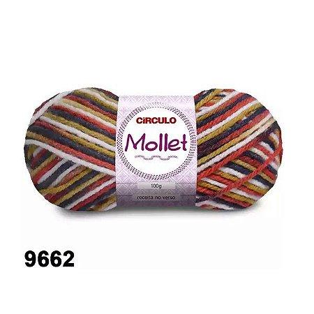 FIO MOLLET CIRCULO COR 9662 100 G