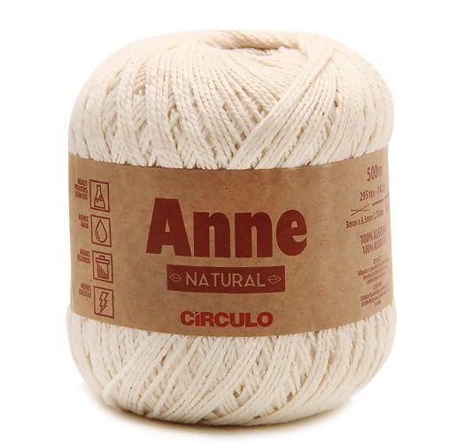 LINHA ANNE 500 COR 20 NATURAL