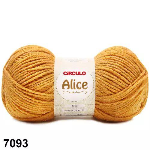 LA ALICE CIRCULO COR 7093 MOSTARDA 100G