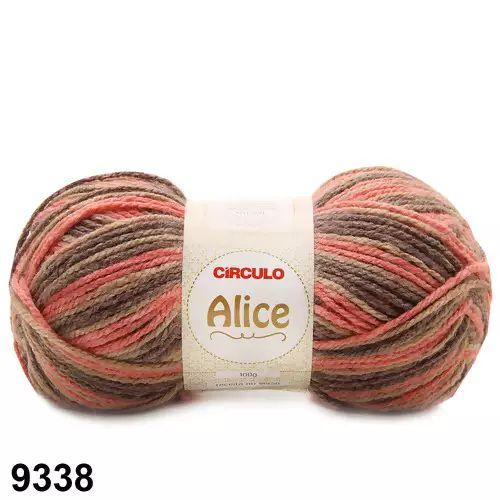 LA ALICE CIRCULO COR 9338 MESCLA FECHA 100G