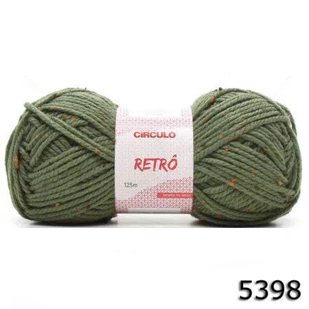 FIO RETRO 125 M CIRCULO COR 5398