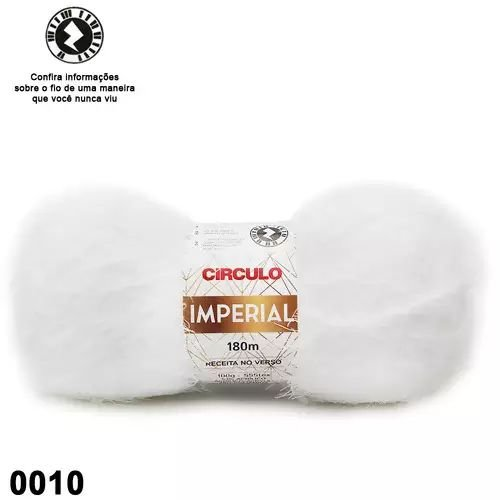 FIO IMPERIAL 180M COR 10 BRANCO CIRCULO
