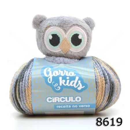 GORRO KIDS CIRCULO 110 M COR 8619