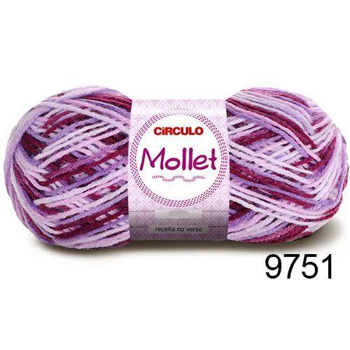 FIO MOLLET CIRCULO COR 9751 100 G