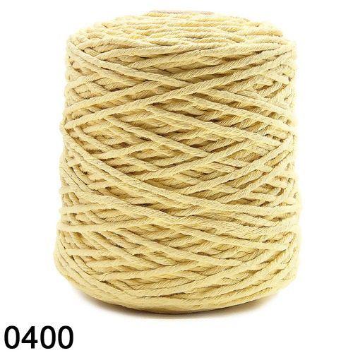 BARBANTE SPESSO 1 KG 4x24 FIOS COR 400 AMARELO EUROROMA