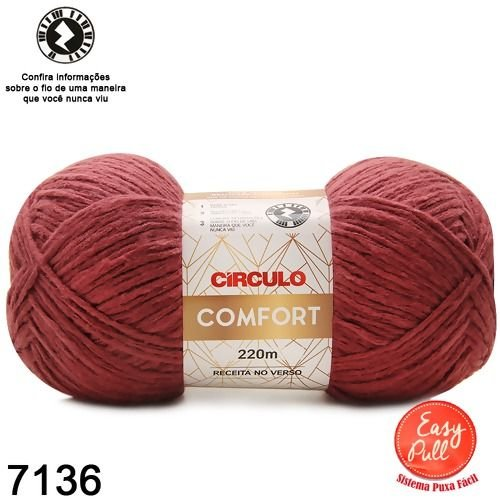 FIO COMFORT COR 7136 MARSALA