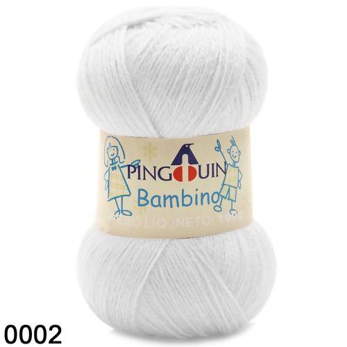 FIO BAMBINO PINGUIM 100 G COR 2