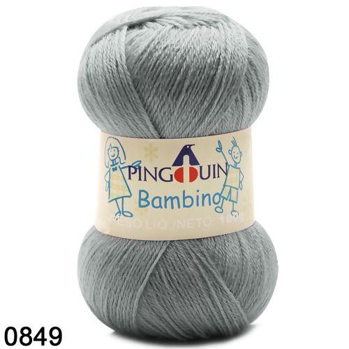 FIO BAMBINO PINGUIM 100 G COR 849