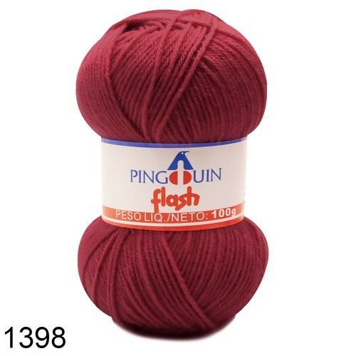 FIO PINGOUIN FLASH 100G COR 1398