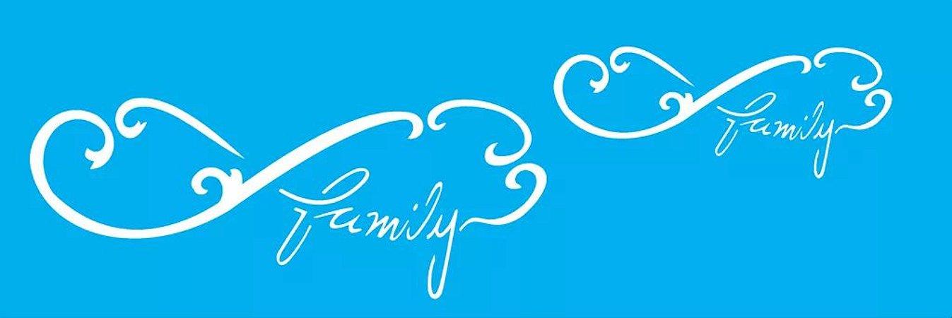ESTENCIL 10X30 INFINITO FAMILY OPA 1723