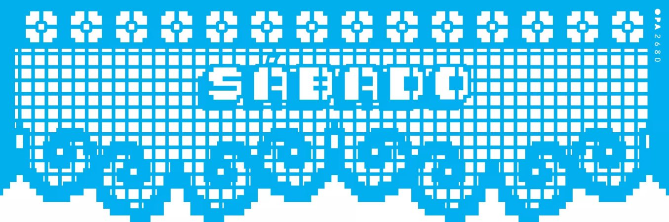 ESTENCIL 10X30 NEGATIVO RENDA SEMANA VII OPA2680