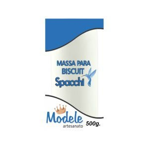 MASSA BISCUIT 002 BRANCO 500 G MODELE