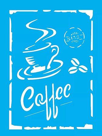ESTENCIL 15X20 COFFEE OPA 1753