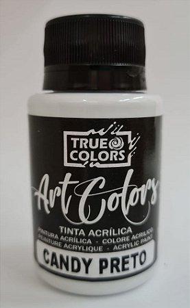 TINTA ACRILICA ARTCOLORS 60 ML CANDY PRETO