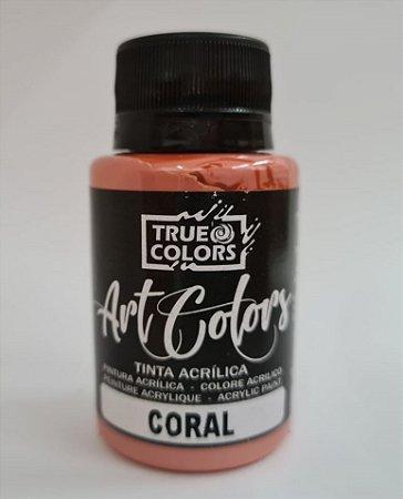 TINTA ACRILICA ARTCOLORS 60 ML CORAL
