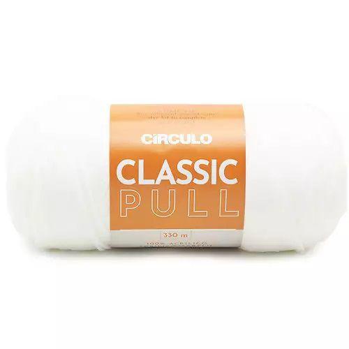 FIO CLASSIC PULL COR 8001 BRANCO 200 GR