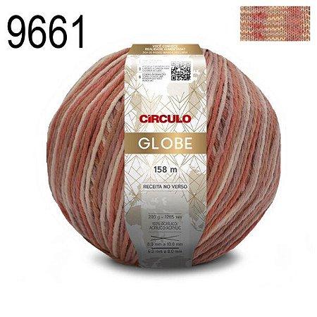 FIO GLOBE 200 GR COR 9661 MESCLA GLACE