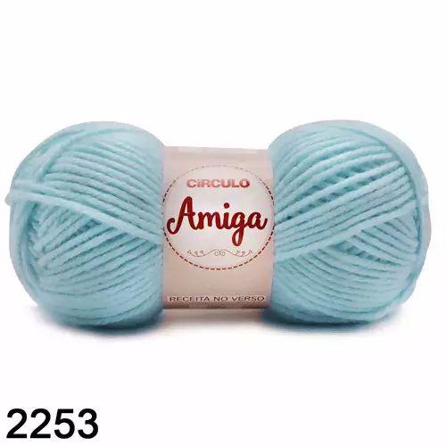 FIO AMIGA 100 GR COR 2253 AZUL CANDY